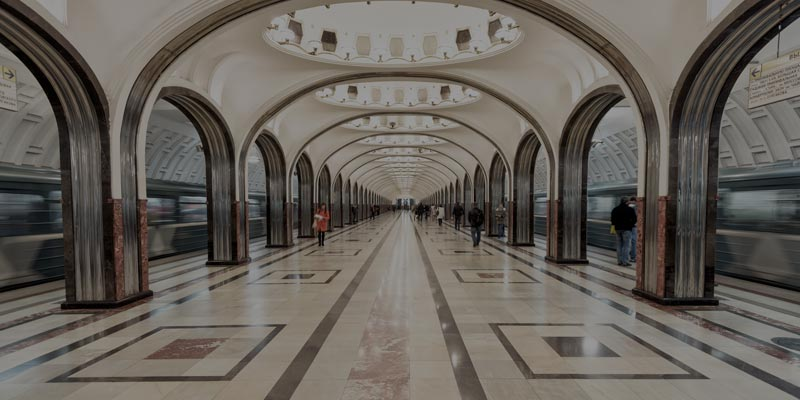 Assessing Moscow Metro Station Blueprint with Crowd Simulation Software