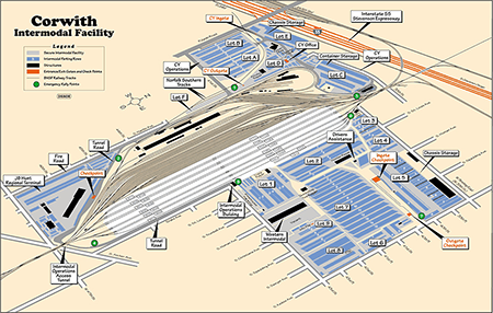 Corwith Intermodal facility simulation and optimization